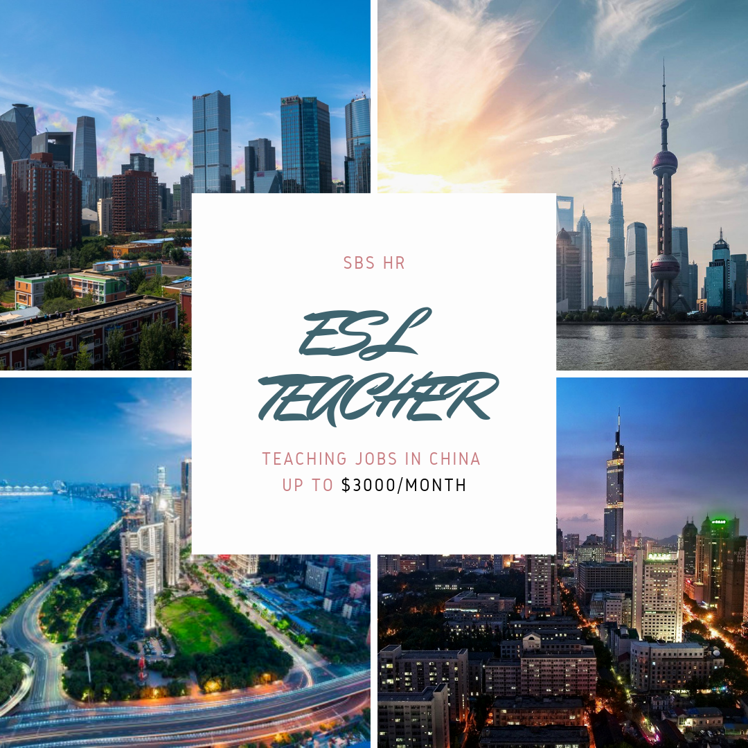 Over 3800 Month Relocation Bonus Esl Teacher Needed In Shenyang China Teflsearch